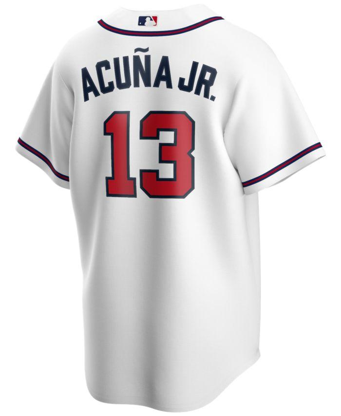 Nike Men's Ronald Acuña Atlanta Braves Official Player Replica Jersey & Reviews - Sports Fan Shop By Lids - Men - Macy's