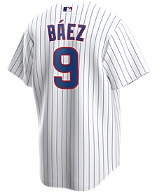 Men's Javier Baez Chicago Cubs Official Player Replica Jersey