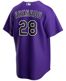 Men's Nolan Arenado Colorado Rockies Official Player Replica Jersey