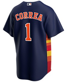 Men's Carlos Correa Houston Astros Official Player Replica Jersey