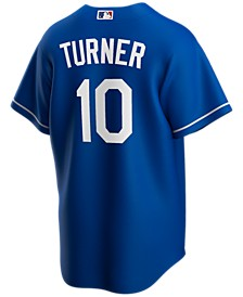 Men's Justin Turner Los Angeles Dodgers Official Player Replica Jersey