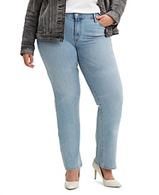 Trendy Plus Size 414 Classic Straight Jeans