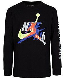 Big Boys Cotton Jumpman Classics Long-Sleeve T-Shirt