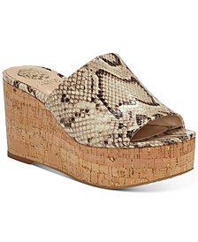 Gadgen Wedge Sandals