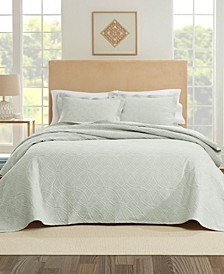 Bogart European Matalasse Coverlet Set King