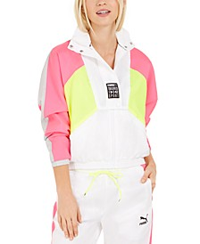 Retro Colorblocked Track Jacket