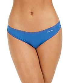 Women's Lace-Trim Bikini Underwear QD3706