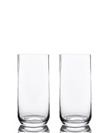 Optic High Ball Glasses - Set of 2