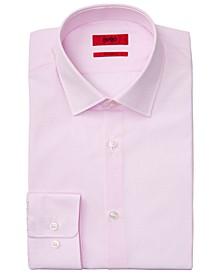BOSS Men's Slim-Fit Pink Mabel Dress Shirt