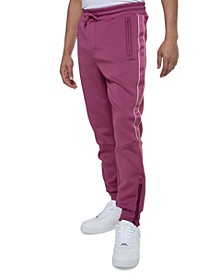 Logo Taping Neoprene Men's Big and Tall Track Pant