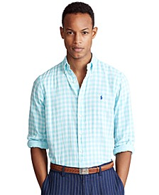 Men's Classic-Fit Plaid Shirt