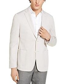 Mens Slim-Fit Knit Sport Coat