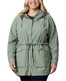 Columbia Plus Size West Bluff Hooded Jacket