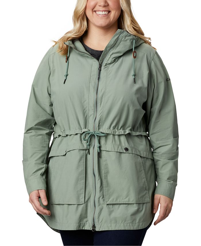 Columbia - Plus Size West Bluff Hooded Jacket
