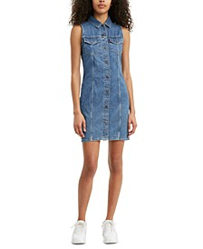 Women's Liliana Cotton Denim Dress