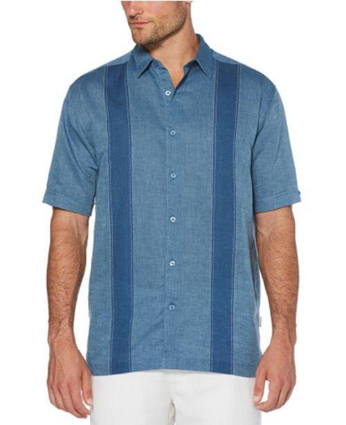 Cubavera Men's Short-Sleeve Panel Shirt