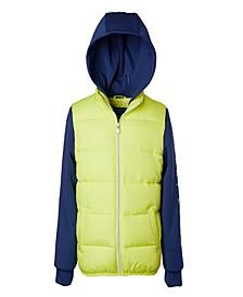 Little Boys Vest with Neoprene Hood and Sleeves