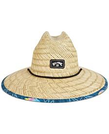 Men's Tides Trim Straw Hat