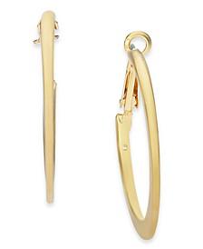 "Gold-Tone Medium Hoop Earrings, 1.75"" Created for Macy's"