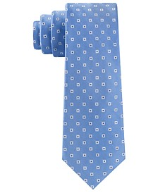 Men's Square Medallion Tie