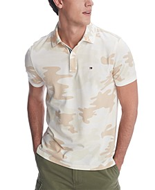 Men's Camo Club Polo Shirt, Created for Macy's