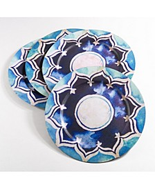 Decorative Collection Moroccan Design Charger Plate Set of 4