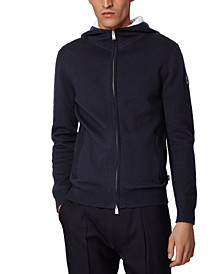 HUGO Men's Oduardo Hooded Sweater