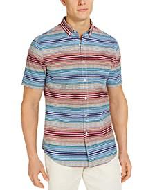 Men's SoCal Stripe Short Sleeve Shirt, Created for Macy's