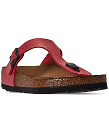 Women's Gizeh Birko-Flor Soft Footbed Casual Sandals from Finish Line