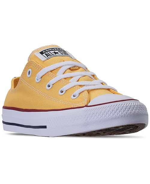 Converse Girls Chuck Taylor All Star Twisted Varsity Low Top Casual Sneakers