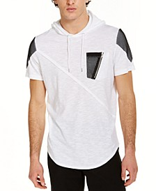 INC Men's Mesh Pieced Hooded T-Shirt, Created for Macy's