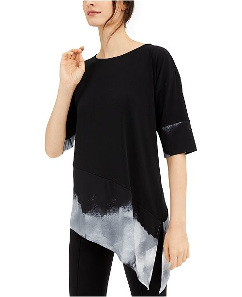 Alfani Asymmetrical Top, Created for Macy's