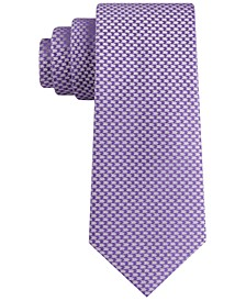 Men's Micro Herringbone Tie