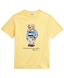 Toddler Boys Chino Bear Cotton Jersey T-Shirt