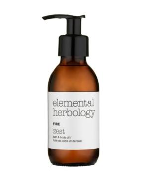 Elemental Herbology Fire Zest Bath Body Oil
