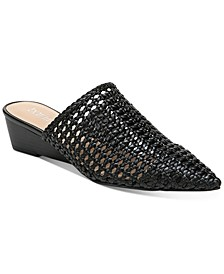 Kayci Woven Mules, Created for Macy's