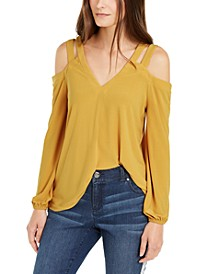 INC Cutout Cold-Shoulder Top, Created for Macy's