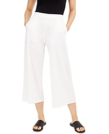 Cropped Pull-On Pants, Regular and Petite Sizes