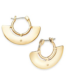 Wide Decorative Hoop Earrings, Created for Macy's