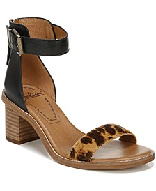 Ilsa Block-Heel City Sandals