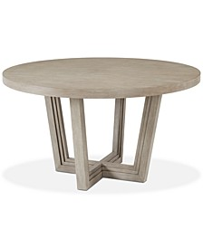 Modern Coastal Round Dining Table