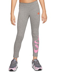 Big Girls Logo-Print Leggings