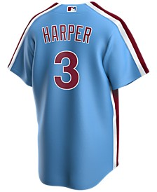 Men's Bryce Harper Philadelphia Phillies Official Player Replica Jersey