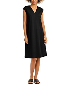 Cap-Sleeve Popover Dress, Regular & Petite Sizes