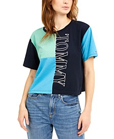 Colorblocked Logo Graphic T-Shirt