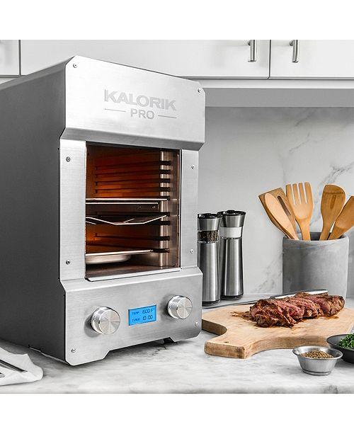 Kalorik Pro Digital Stainless Steel Steakhouse Grill