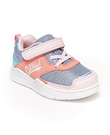 B'Gosh Little Girls Chears Athletic Sneaker