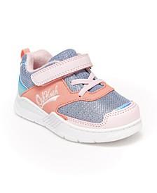 Oshkosh B'Gosh Toddler and Little Kids Girls Chears Athletic Sneaker