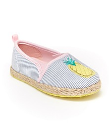 Oshkosh B'Gosh Toddler and Little Kids Girls Belle Casual Espadrille Shoe