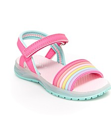 Toddler and Little Girls Lighted Sandal